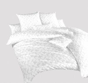 Damaškové obliečky Rokoko bielej