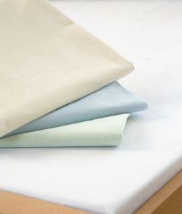 Prestieradlo - bavlnená plachta, biela