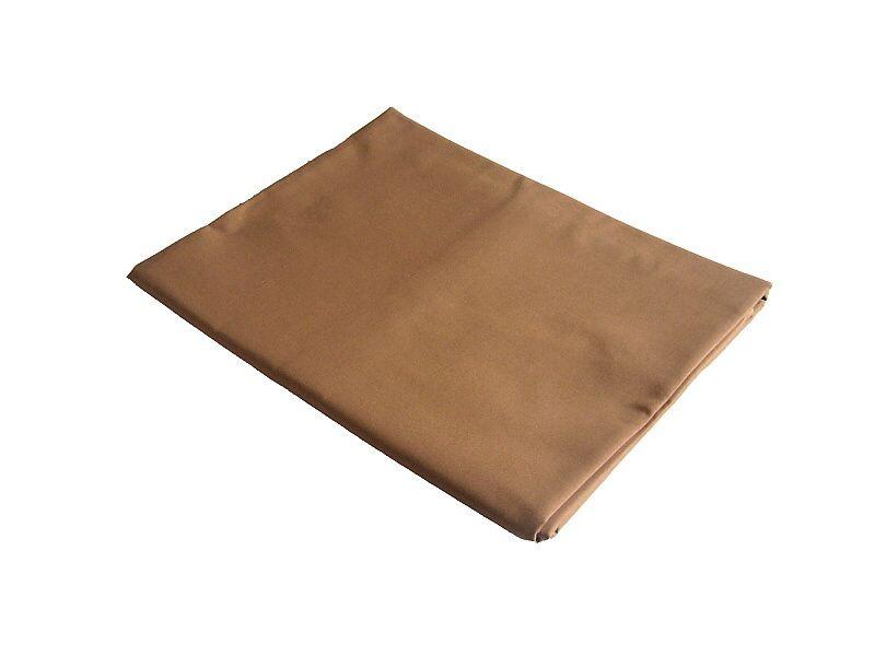 Jednofarebné kvalitné bavlnené prestieradlo vo farbe svetlo hnedéj, Dadka