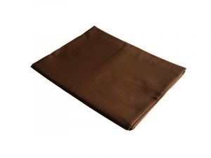 Prestieradlo - bavlnená plachta tmavo hnedá