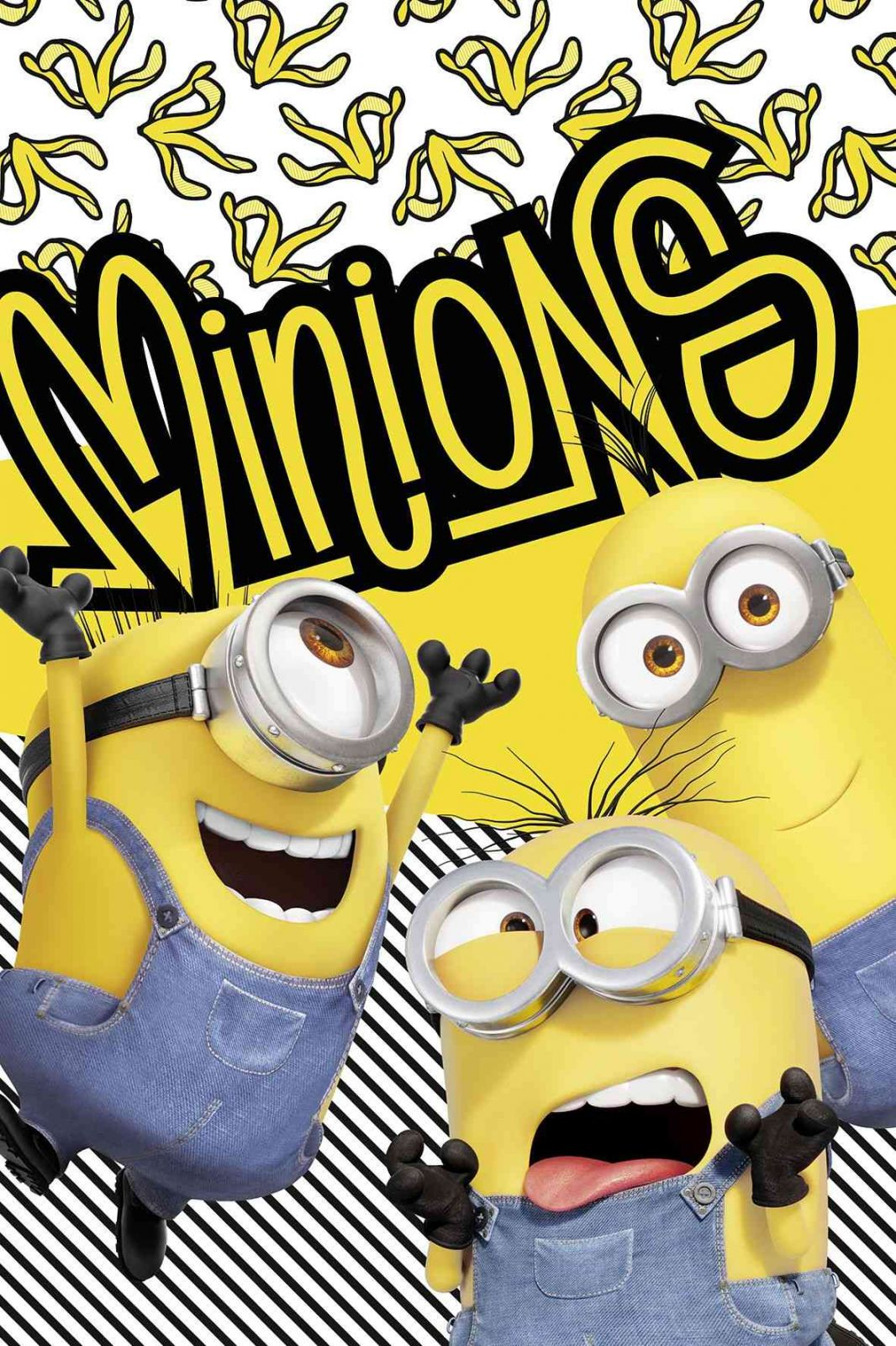 "Detská fleecová deka Mimoni 2 ""Banana!"" Jerry Fabrics"