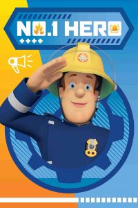 Detská fleecová deka Požiarnik Sam HERO 028
