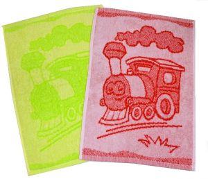 Detský uterák Train 30x50 cm