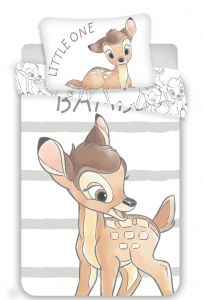 Disney obliečky do postieľky Bambi stripe baby