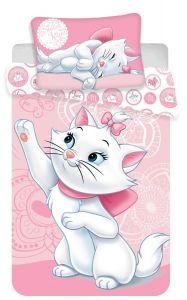 Bavlnené obliečky do postieľky Disney Marie cat baby