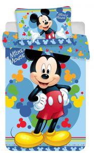 Bavlnené obliečky do postieľky Disney Mickey baby 02