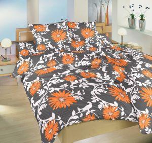 Bavlnené obliečky Lola oranžová