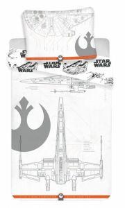 Obliečky bavlna Star Wars 9 vehicles