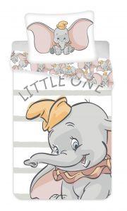 Povlečení Dumbo grey stripe