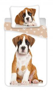 Obliečky fototlač Dog brown