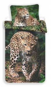 Obliečky fototlač Leopard green