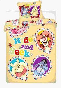 Bavlnené obliečky Disney - Macko Pu balloon