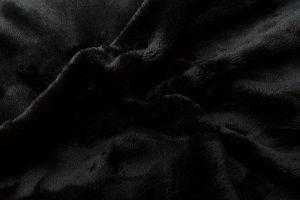 Prestieradlo mikroflanel - čierna