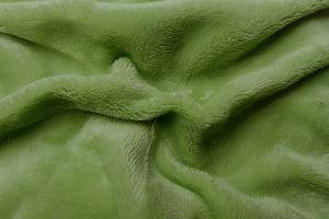 Napínacie jednofarebné mikroflanelové plachta vo farbe zelenej (kivi), | rozmer 90x200 cm., rozmer 180x200 cm.