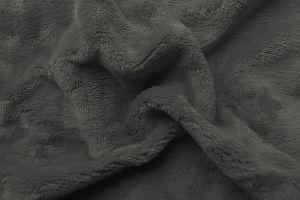 Prestieradlo mikroflanel tmavo šedá