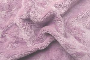 Prestieradlo mikroflanel - piesková (púdrová ružová), | rozmer 90x200 cm.