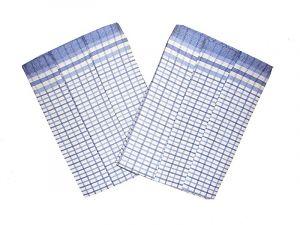 Utierka Bambus 50x70 - Kocka malá modrá - 3 ks