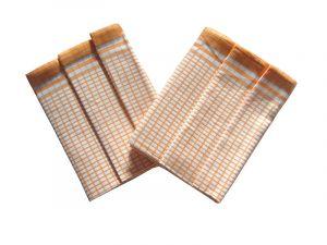 Utierky Bambus - Kocka malá okrová - 3ks