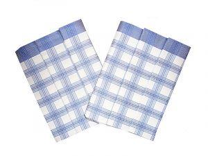 Utierka Bambus 50x70 - Kocka veľká modrá - 3 ks