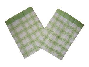 Utierky Bambus - Kocka veľká zelená - 3ks