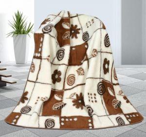 Vlnená deka 155 x 200 cm variácie - európske merino