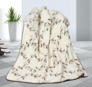 Vlnená deka DUO 155 x 200 cm pupenec - austrálske merino