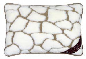 Vlnený vankúš 40 x 60 cm kamene - Kašmír