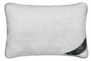 Vlnený vankúš 40 x 60 cm sivý uni - Alpaka