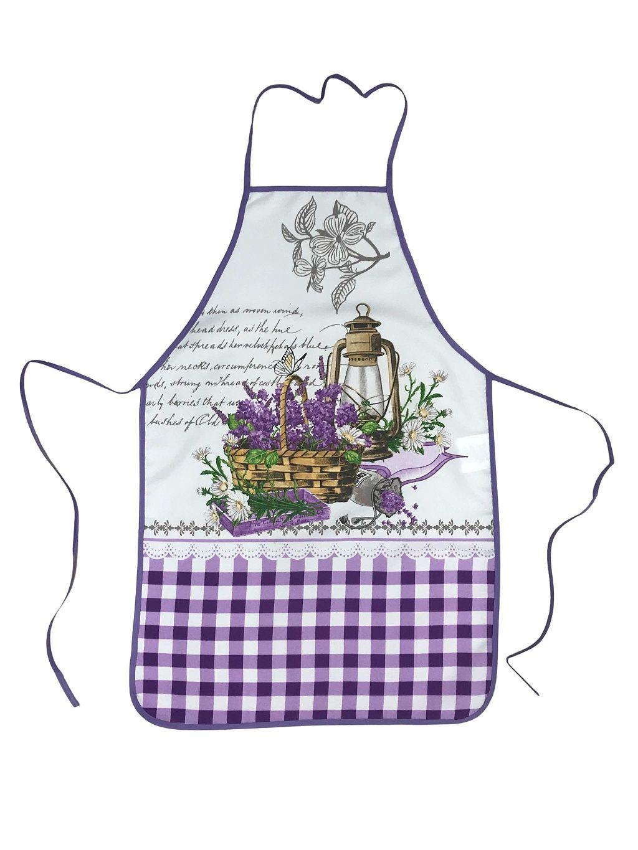 Kuchynská zástera Levanduľa motýľ Praktik