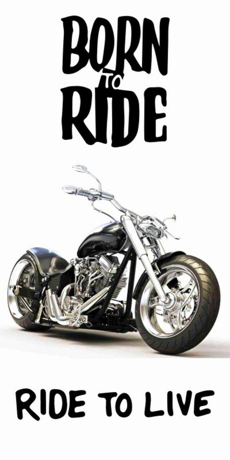 Bavlnená osuška s motívom čierne motorky na bielom pozadí, Jerry Fabrics