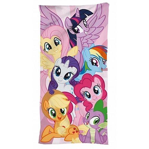 Animované poníky na detské bavlnené osuške My little Pony 095, Jerry Fabrics