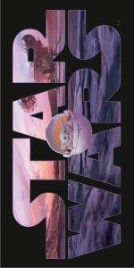 Plážová osuška Star Wars Mandalorianov 70x140 cm | rozmer 70x140 cm.
