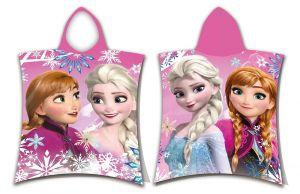 Pončo Frozen sisters