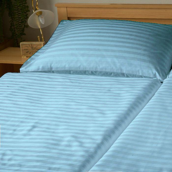 Krásne obliečky Atlas grádl modrý - prúžok 2 mm, Dadka