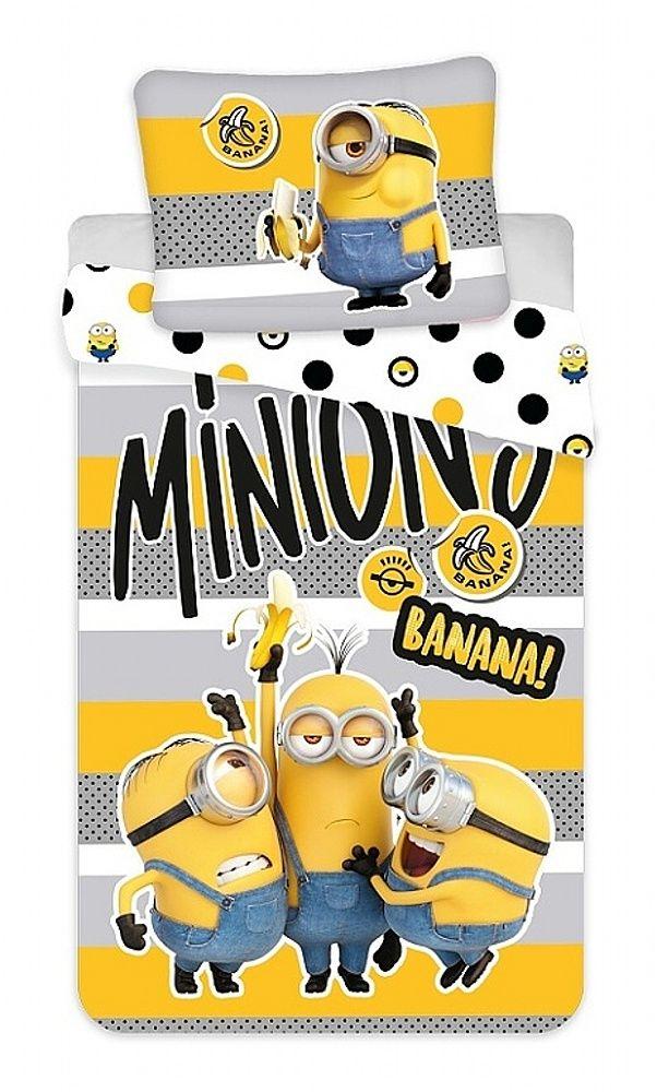 """Obliečky bavlna Mimoni 2 """"Banana!"""" Jerry Fabrics"""
