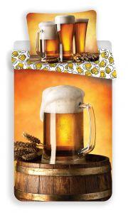 Bavlnené obliečky fototlač Pivo