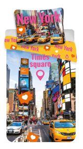 Bavlnené obliečky fototlač Times Square