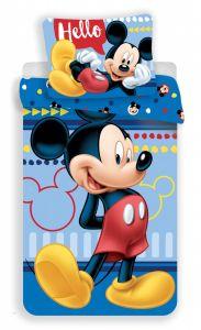 Bavlnené obliečky Mickey 004 Hello