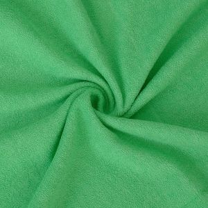 Froté prestieradlo zelené