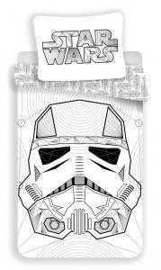 Obliečky bavlna Star Wars White