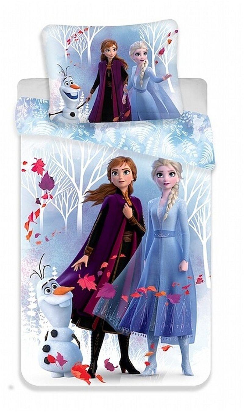 Krásne obliečky pre Vaše dievčatká Frozen 2 White, Jerry Fabrics
