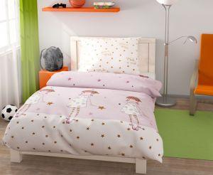 Kvalitná bavlnená posteľná bielizeň pre mladé slečny Girls,  | 140x200, 70x90 cm