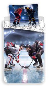 Bavlnené obliečky fototlač Hokej