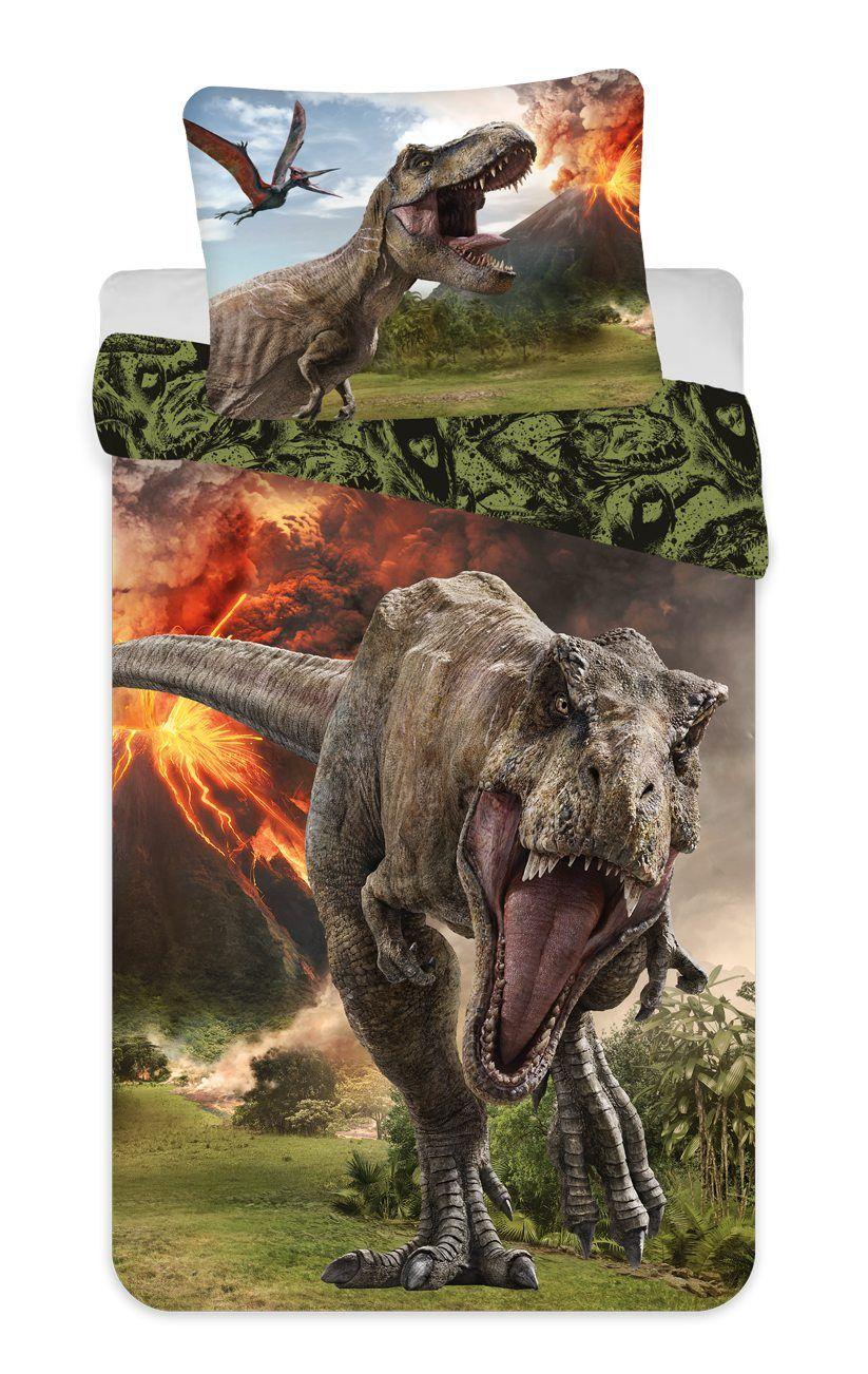 Obliečky Jurský svet Volcano Jerry Fabrics