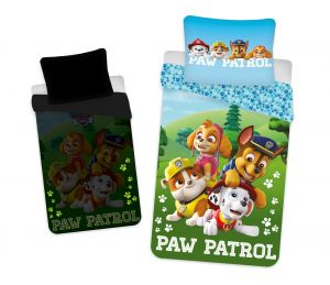 Obliečky Paw Patrol 203 svietiace efekt