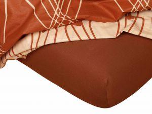 Kvalitné napínacie jersey prestieradlo v nugátovej farbe, | rozmer 60x120 cm., rozmer 80x200 cm., rozmer 90x200 cm., rozmer 100x200 cm., rozmer 120x200 cm., rozmer 140x200 cm., rozmer 160x200 cm., rozmer 180x200 cm., rozmer 200x200 cm., rozmer 200x220 cm., rozmer 100x220 cm., rozmer 120x220 cm., rozmer 140x220 cm., rozmer 160x220 cm., rozmer 180x220 cm., rozmer 220x220 cm., rozmer 35x75 cm., rozmer 80x140 cm., rozmer 80x220 cm., rozmer 90x220 cm.