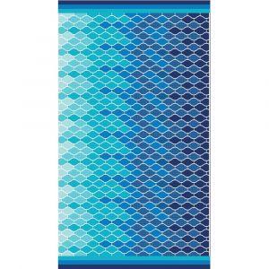 Plážová osuška MAXI More | rozmer 100x180 cm.