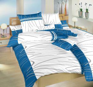 Kvalitné bavlnené obliečky českej výroby Tenerife modrej, | 140x200, 70x90 cm, 140x220, 70x90 cm, 240x200, 2x70x90 cm, 140x200 cm povlak, 140x220 cm povlak, 140x240 cm povlak, 200x200 cm povlak, 200x220 cm povlak, 220x220 cm povlak, 220x200 cm povlak, 240x200 cm povlak, 240x220 cm povlak, 40x40 cm povlak, 40x50 cm povlak, 50x70 cm povlak, 70x90 cm povlak