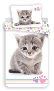 Obliečky fototlač Kitten colour