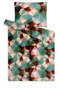 Obliečky mikroflanel Deep forest green | 140x200, 70x90 cm